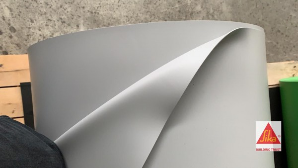 1,5 mm Teichfolie perlgrau (ähnlich RAL 8500) Sikaplan® WP 5130-15 H