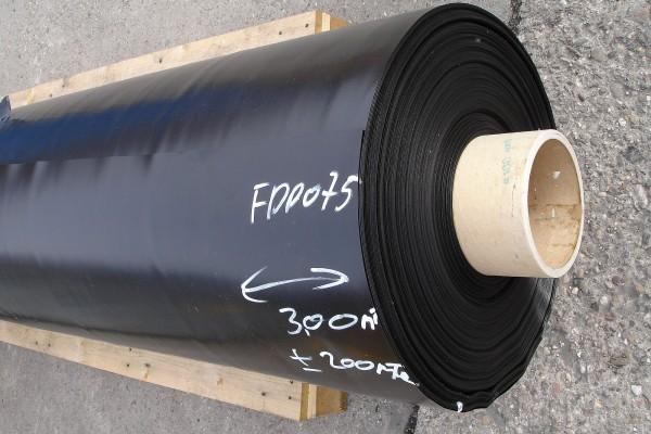 FPP Abdichtungsbahn 0,6 mm schwarz