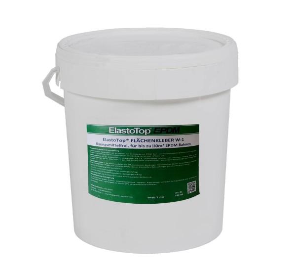 18 Liter wasserbasierter Flächenkleber ElastoTop® EPDM